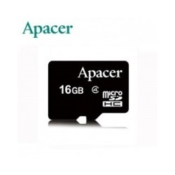 Apacer Micro SD 16GB CL4 Memory Card (with out Adapter)