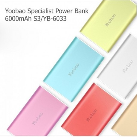 Yoobao Specialist [6000mAh] Powerbank