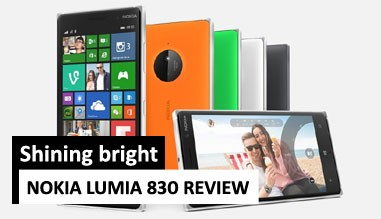 Lumia 830 Review